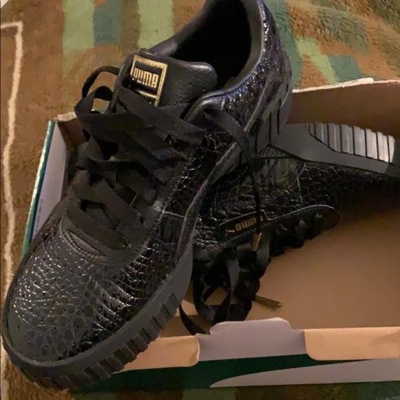 Puma Shoes   Cali Croc Pumas   Poshmark
